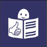 """Icono de """"lectura fácil"""""""